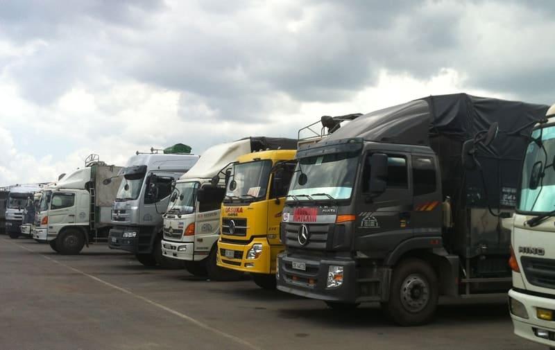 các loại xe tải chở hàng