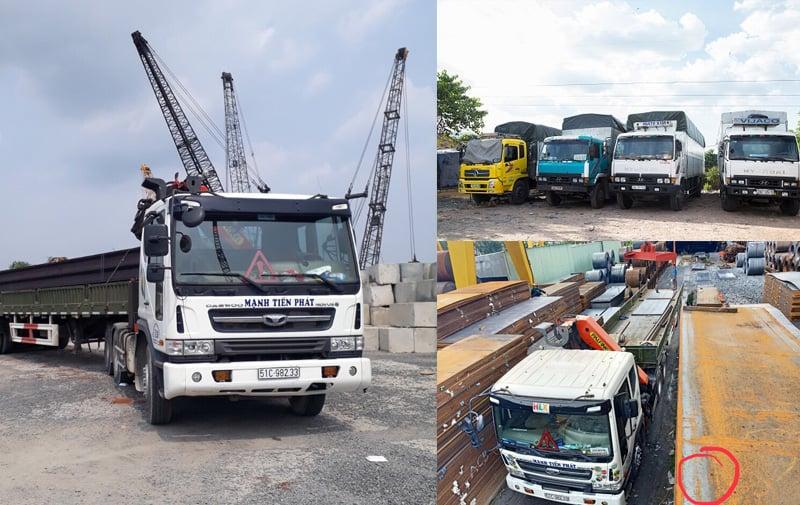 dịch vụ vận tải giá rẻ tại tphcm